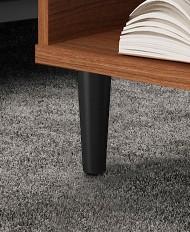Mais resistência e design. Os pezinhos da linha EASY CLICK são feitos de madeira solida, o que permite ter maior resistência ao utilizarmos desenhos com tendências atuais.